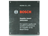 Supplier Award 2003/2004