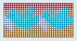 Application Example: Full-Color High Density Dot Matrix